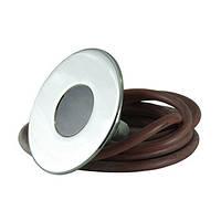 Прожектор светодиодный для освещения бассейнов. LUMMIX 12 В Полированные лицевые панели из нержавеющей стали