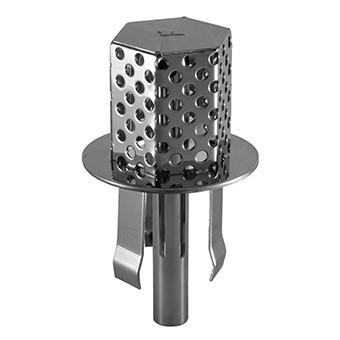 Глушитель в переливной лоток (нержавеюая сталь AISI316)