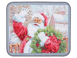 Салфетка гобеленовая Новогодняя 45х35 см 711-074
