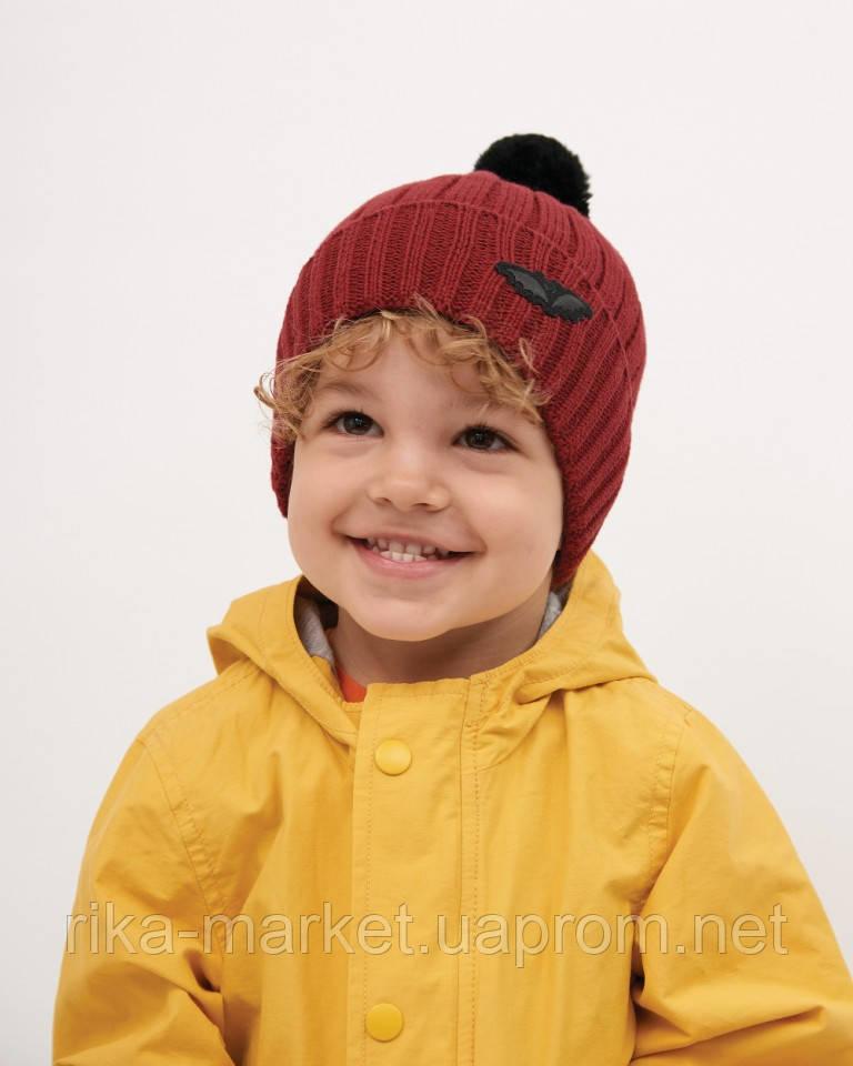 Зимняя шапка для мальчика, Dembohouse .Сандор, от 1,5 до 6 лет