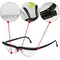 Универсальные очки для зрения Dial Vision | Очки с регулировкой линз