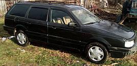 Ветровики, дефлекторы окон Volkswagen Passat B4 Wagon 1988-1997 'Cobra tuning'