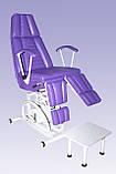 Кресло педикюрное КП-3РГ с гидравлической регулировкой высоты, с подставкой для ванночки, фото 2