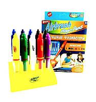 Детские воздушные фломастеры Magic Pens E 018 с подставкой   Аэрограф