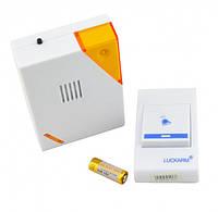 Беспроводной дверной звонок LUCKARM Intelligent на батарейках (D9688)