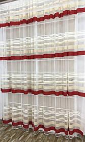 Тюль Санторини №9, 3 метра