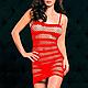 Платье - сеточка полосатое, фото 7