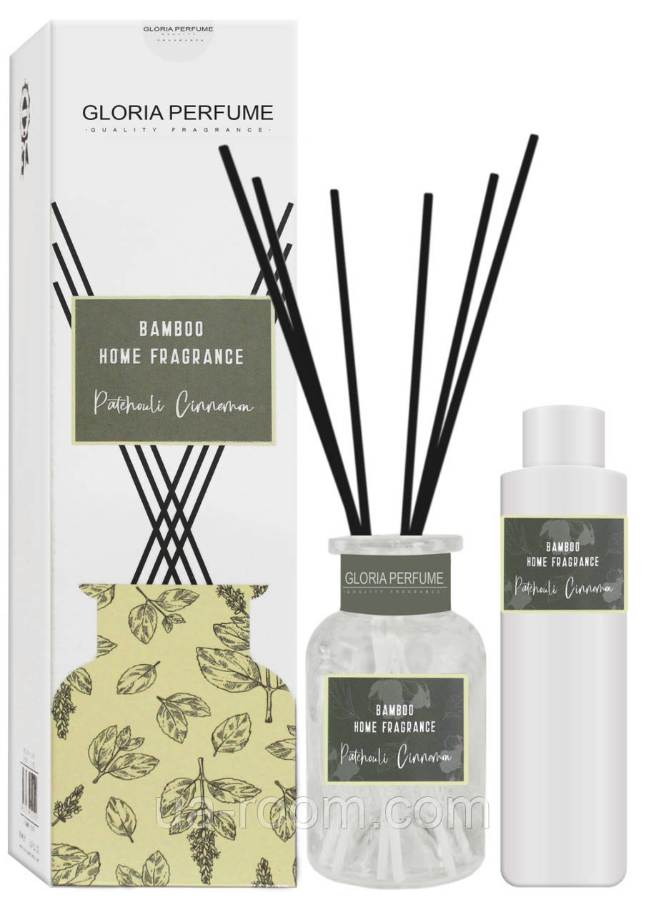 Аромадиффузор Bamboo Home Fragrance Patchouli Cinnemon, 150 мл.