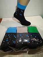 """Шкарпетки жіночі, повна махра, зимові з відворотом """"Christmas tree"""" 23-25р. ТМ """"Варос"""""""