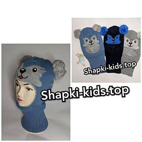Шапка-Шлем для мальчика Мордочка
