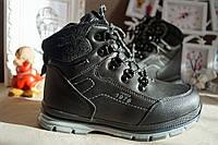 Ботинки сапожки зимние на мальчика черные 30-37 рр, фото 1