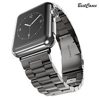 Солидный! Металлический ремешок Wirst для Apple Watch Series 38mm