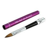 Кисть для акрила YRE №8 Складная ручка-трансформер