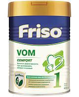Молочная смесь Friso Vom Comfort 1 с пребиотиками 400 г  Суміш молочна суха