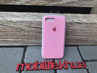 Silicon Case Original Apple iPhone 7Plus,8Plus/Розовый/Высокое Качество/