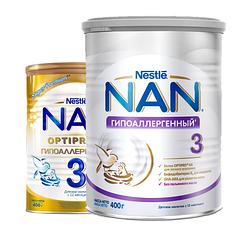 Cмесь Nestle NAN Гипоаллергенный 3 с 12 месяцев 400 гр.