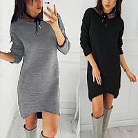 Теплое платье на меху, с 40 по 46 размер