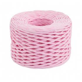 Шпагат Yes! Fun бумажный крученый для декора, 50 м, розовый