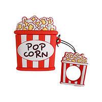 УЦІНКА! Чохол для навушників Apple AirPods Alitek Popcorn (Попкорн) + тримач (Передоплата), фото 1