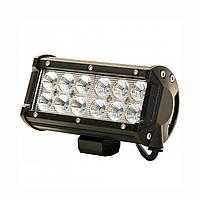 Светодиодная фара автомобильная LED на крышу машины или катера (12 LED) 5D-36W-SPOT фара 5д