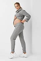 Спортивні штани для вагітних 1978 1218 сірі