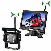 """Беспроводной монитор 7,0"""" + беспроводная камера для грузовиков"""