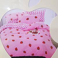 Комплект детского постельного белья сатин 160*200 размер.