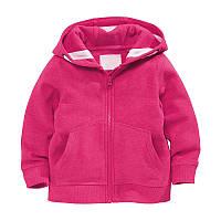 Кофта с капюшоном для девочки Розовая нежность Little Maven