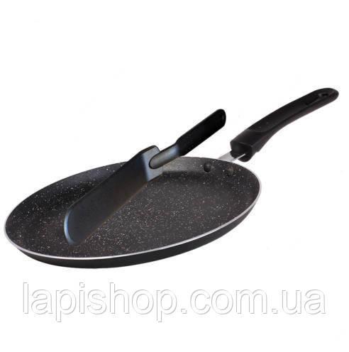 Сковорода блинная Blaumann BL 3373 SP + нейлоновая лопатка