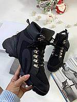 Стильные высокие кеды Christian Dior D-CONNECT (реплика), фото 1