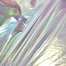 Плащевка металлик серебро хамелеон, фото 3
