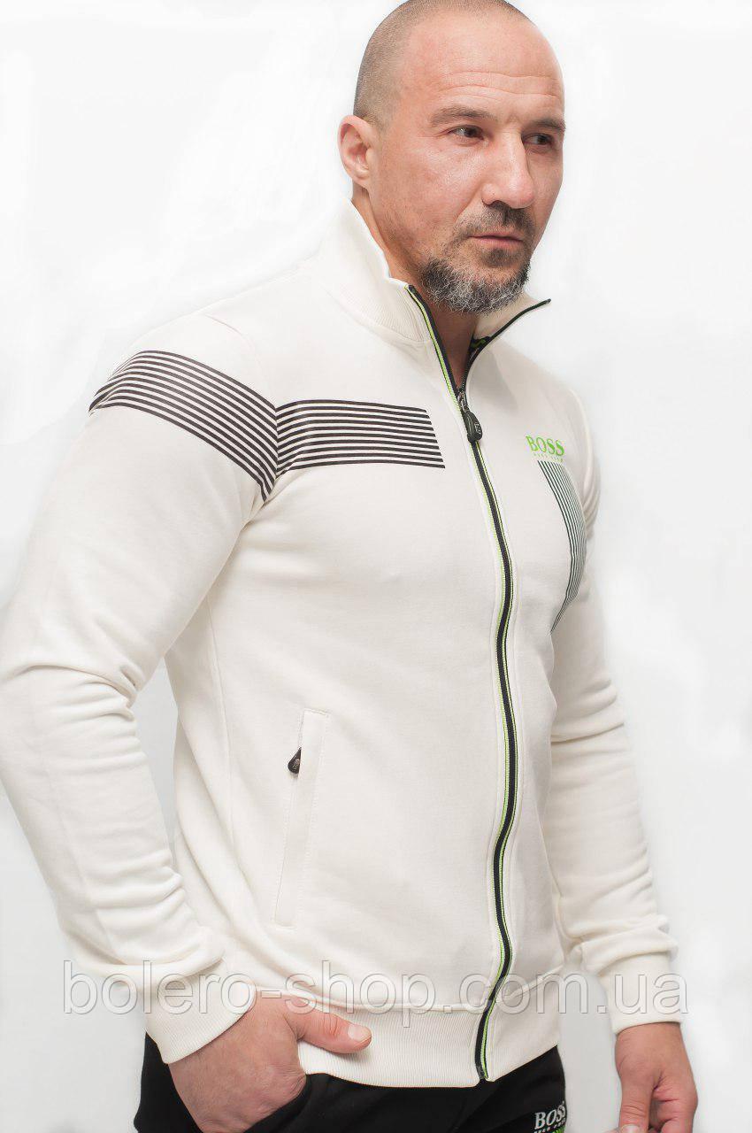 Мужской спортивный костюм бело-черный