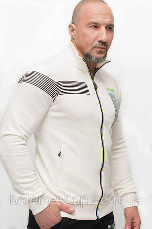 Мужской спортивный костюм бело-черный, фото 2