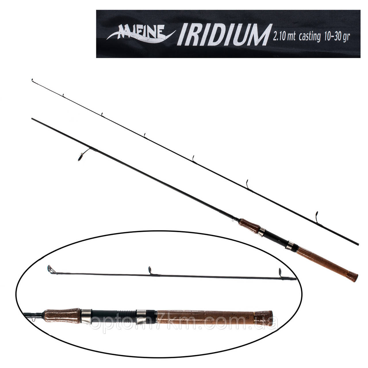Спиннинг Mifine Iridium 2,7m, тест 10-30g