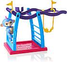 Интерактивная обезьянка с детской площадкой  WowWee Fingerlings Playset - Monkey Bar Playground, фото 5
