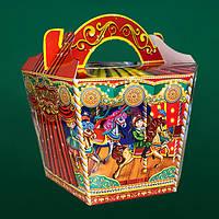 Упаковка для конфет картонная Весела Карусель на 1400-1600 г