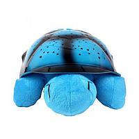 Проектор ночник звездного неба Черепаха Turtle Night Sky | Синий