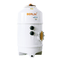 Фільтраційна бочка в басейн BERLIN2 750x1500 мм (бічний вентиль, підключення) Behncke Німеччина
