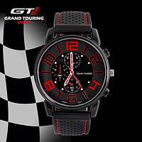 Спортивные популярные часы для мужчин красные