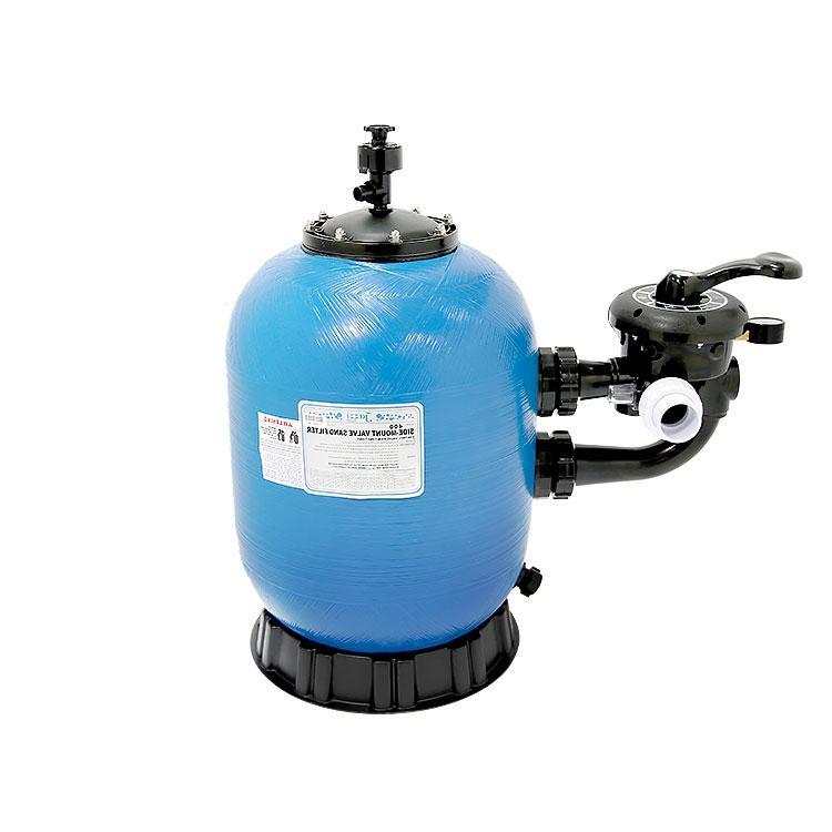 Фильтрационный бак JAZZI диаметр 400 мм с боковым вентилем для частных бассейнов (подключение 50 мм)