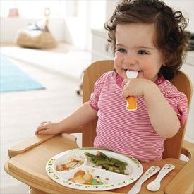 Дитячий посуд