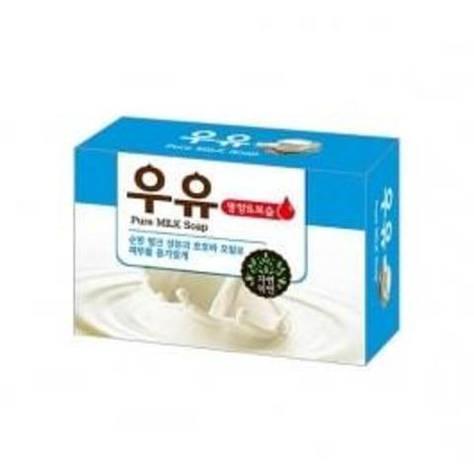 """Смягчающее косметическое мыло с молоком и маслом жожоба """"Pure Milk Soap"""" 100 г (801751), фото 2"""