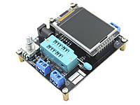 Многофункциональный мультиметр тестер ESR LCR большой LCD ЖК GM328A - русская прошивка