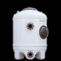 Фильтрационная бочка MÜNCHEN 1200x1800 мм (боковой вентиль, подключение DN125/DN125) Германия