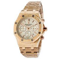 Часы наручные Audemars Piguet Royal Oak Chronograph Gold-White