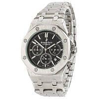 Часы наручные Audemars Piguet Royal Oak Chronograph Silver-Black