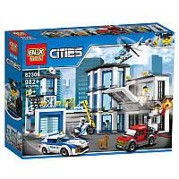 """Конструктор Blx 82306 """"Полицейский участок"""" (аналог Lego City 60141), 982 дет"""