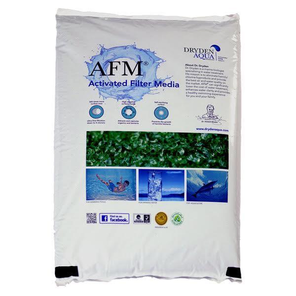 Активированный фильтрующий элемент Засыпка AFM №3 фракция 2,0-4,0 мм 25 кг Шотландия