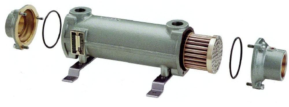 Теплообменник (60С/170кВТ, 82С/300кВт) Cupro Nickel Bowman (Великобритания)