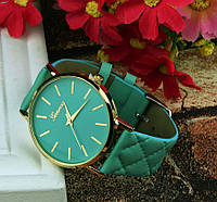 Бирюзовые женские часы Женева